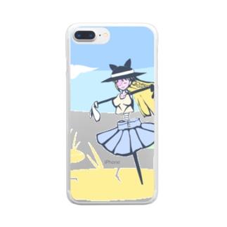 カカシ Clear smartphone cases
