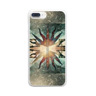 amaterasu Clear smartphone cases