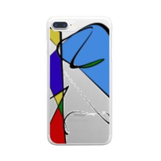 POKOPON Clear Smartphone Case