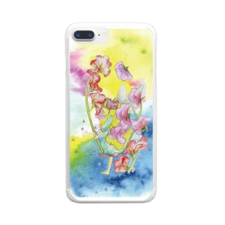 fairyシリーズ*sweet pea2 Clear smartphone cases