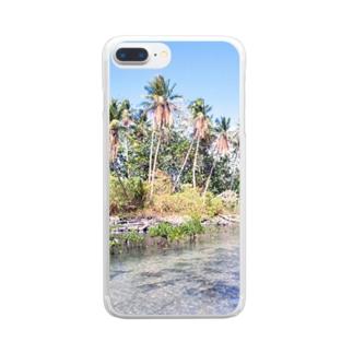 ミクロネシア:ナンマトル遺跡の風景写真 Micronesia: Nan Madol / Pohnpei Clear smartphone cases