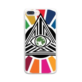 コビドのおやじ Clear smartphone cases