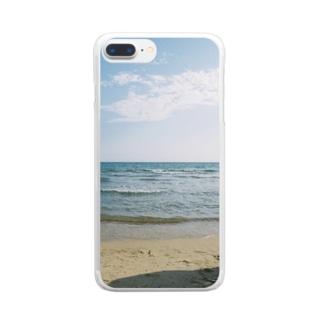 mugiの201911_busan2 Clear smartphone cases