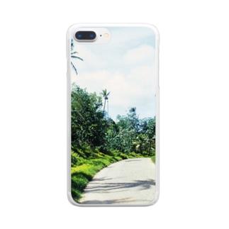 ミクロネシア:ポンペイ島の風景写真 Micronesia: view of Pohnpei Clear smartphone cases