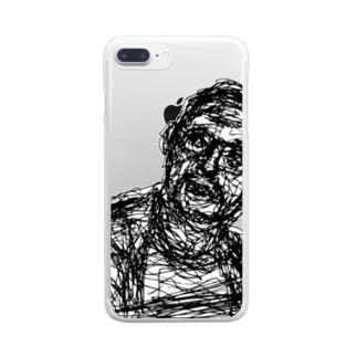 彼 Clear smartphone cases