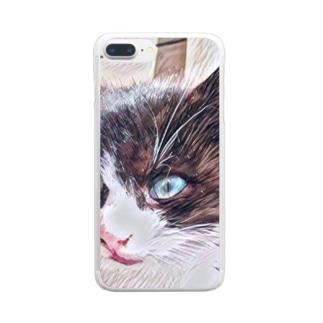 子猫 Clear smartphone cases