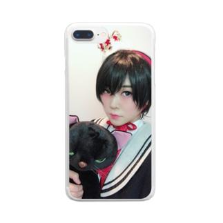 伊波ひふみの少年ひふみ Clear smartphone cases