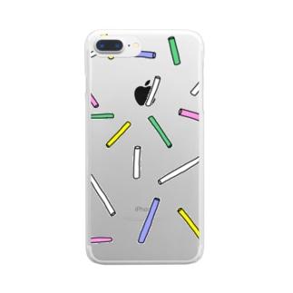 クリアチョーク Clear smartphone cases