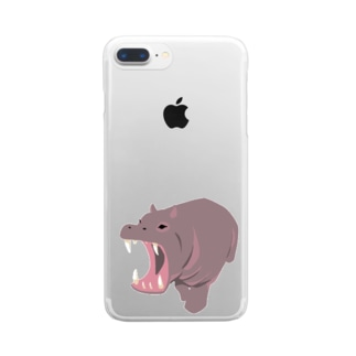 かば Clear smartphone cases