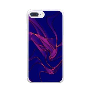 たゆたう水面 Clear smartphone cases