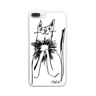 愛しいミカちゃん Clear smartphone cases