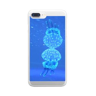 水鏡海月 Clear smartphone cases
