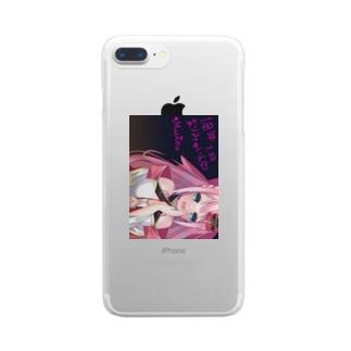【サイン入り】みゅいんの1周年記念のグッズ Clear smartphone cases