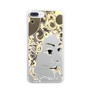 シヴァ15 Clear smartphone cases