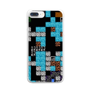 OLD GAME Clear smartphone cases