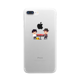 hitotukashiのかしまくんといとうくんメインビジュアル Clear smartphone cases
