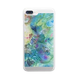 今を大切にしたいスマホケース Clear smartphone cases