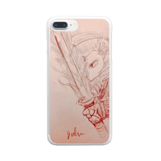 Lost spirit sword Clear smartphone cases
