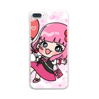★MIHARU★×cute Clear smartphone cases