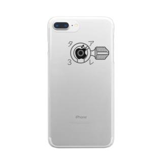 89式愛 Clear smartphone cases