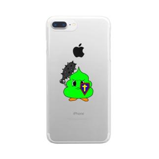 ミニうんぽこないとっ! Clear smartphone cases