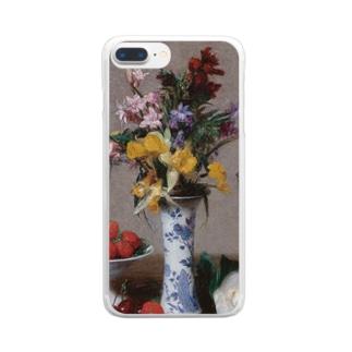 アンリ・ファンタン=ラトゥール 《婚約の花束》 Clear Smartphone Case