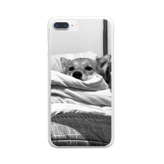 UCHINOKO(ジト目) Clear smartphone cases