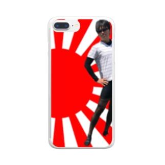なゆたん Clear smartphone cases