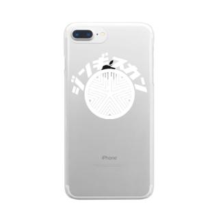 ジンギスカン(白) クリアスマートフォンケース