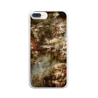 ピーテル・パウル・ルーベンス 《ヴィーナスの饗宴》 Clear smartphone cases