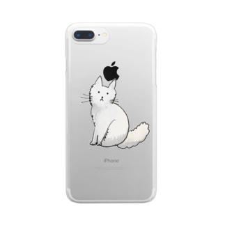 TURKISH ANGORA ターキッシュアンゴラ 猫 Clear smartphone cases