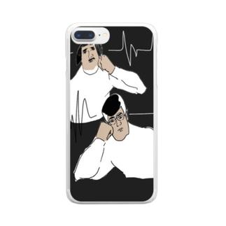 あー難しいなぁ、あー難しいなぁ Clear smartphone cases