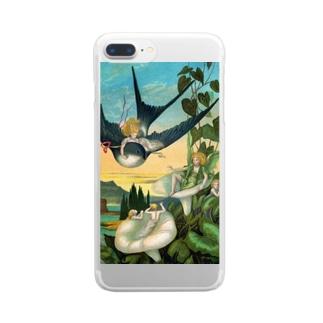 エレナー・ヴェア・ボイル 《おやゆび姫》 Clear Smartphone Case