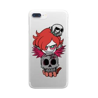 カリスマ Clear smartphone cases
