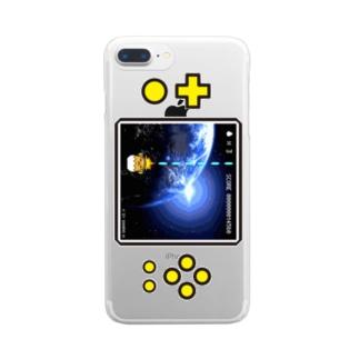 【ぐでたまYouTubeグッズ】スマホケースF Clear smartphone cases