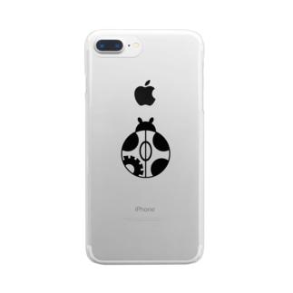 テントウアイコン Clear Smartphone Case