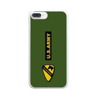 第一騎兵師団 usarmy BaseEXCHANGE Clear smartphone cases