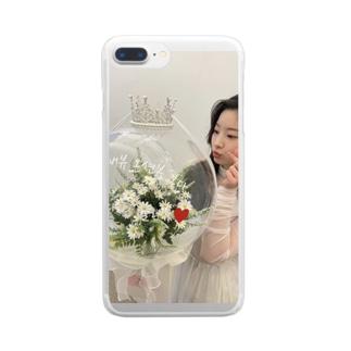 ぬ Clear smartphone cases