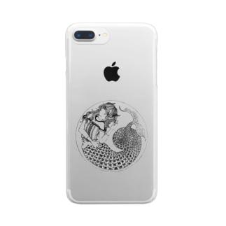 カプリコーンな女 Clear smartphone cases