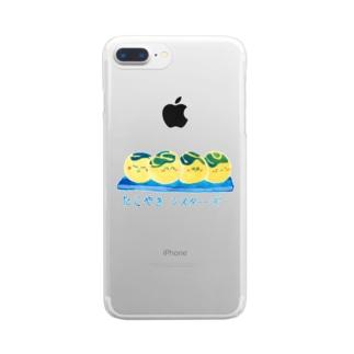 たこやきシスターズ Clear smartphone cases