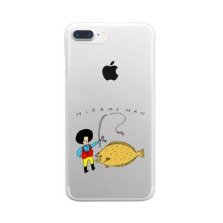 HIRAMEMANスマホケース Clear smartphone cases