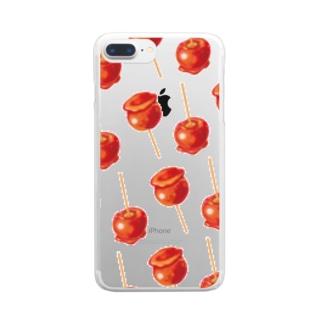 林檎飴[透明] Clear smartphone cases