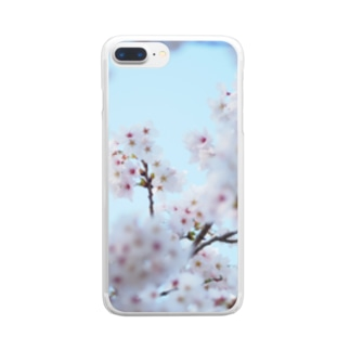 sakura2 Clear smartphone cases