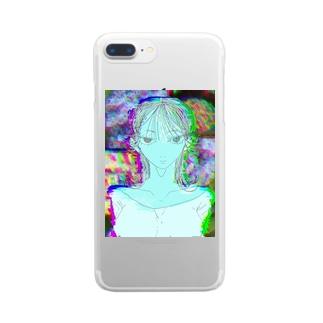 まなざし Clear smartphone cases