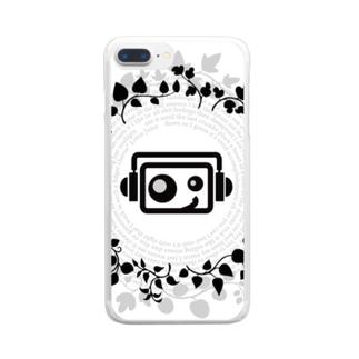 CARPE DIEM クリアスマホケース Clear smartphone cases