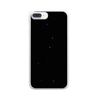 北斗七星 Clear smartphone cases