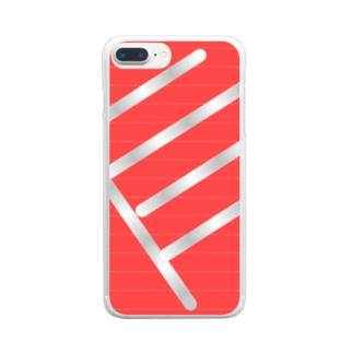スタートライン Clear smartphone cases