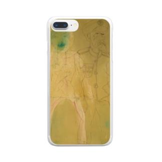 ダーティー Clear smartphone cases