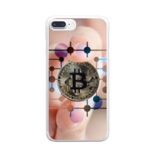 ビットコイン Clear smartphone cases