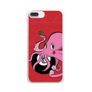 Octo_luck Clear smartphone cases